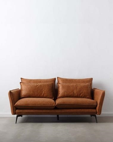 ESCAND CAMEL 2 Seater Sofa | ESCAND/2P152776/CAMEL | Keisu, lighting and design.
