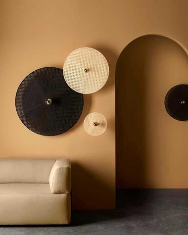Wall lamp TAN TAN | TANTAN/A1125/30/NATURAL/5/BLANCO/ | Aromas | Keisu, lighting and design.